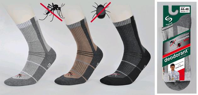 skarpety outdoor kleszcze komary